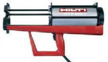 Kotvení chemickými kotvami - pneumatický vytlačovací přístroj