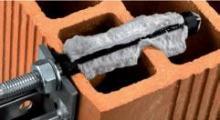 Kotvení chemickými kotvami - vlepená kotva